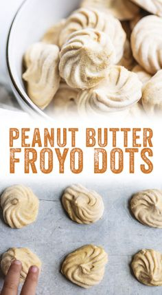 Looking for healthy snacks for kids? Peanut butter frozen yogurt dots are a heal… Looking for healthy snacks for kids? Peanut butter frozen yogurt dots are a healthy treat and a sure hit with kids of all ages—even adults! Yogurt Recipes, Baby Food Recipes, Gourmet Recipes, Dessert Recipes, Peanut Recipes, Peanut Snacks, Dinner Recipes, Good Healthy Recipes, Healthy Snacks For Kids