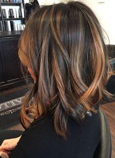 Samantha Nicole Williams — I cut lyn's hair off back in November & now she's. Brown Hair Balayage, Hair Highlights, Medium Hair Styles, Short Hair Styles, Hair Color And Cut, Hair Colour, Hair Affair, Brunette Hair, Dark Brunette
