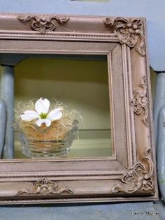 Annie Sloan Chalk Paint™ Decorative Paint Antoinette with dark wax by cecelia