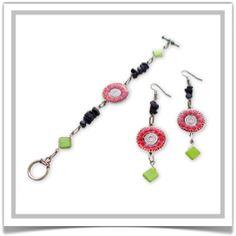 "One-of-a-Kind ""Radiance"" Jewelry Set - Designed by Belle Bijou:  http://www.bellebijoujewelry.com/store/detail/index.html#cid=48955"