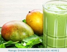 People are swearing by this smoothie!  Dr. Oz green smoothie recipes
