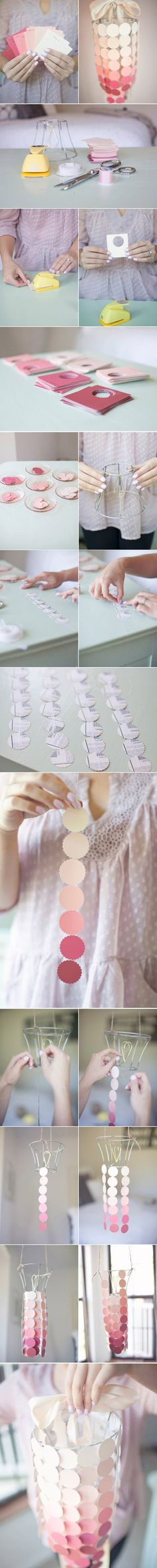 Growing flowers - DIY handmade ornaments http://www.52souluo.com/57957.html gradient