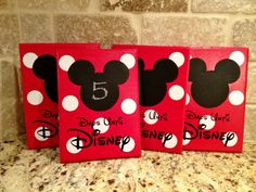Disney World Vacation Chalkboard Countdown Ideas