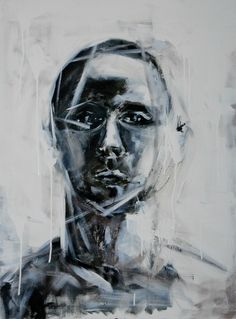Salvatore Bua  Acrilico su tela Tecnica: Pennello 50x70  Titolo: Ritratto Ignoto Anno 2011