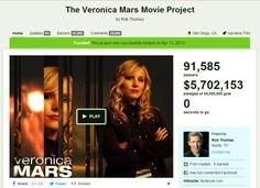The Veronica Mars Project Kickstarter OK! http://pipocacombacon.wordpress.com/2014/01/22/veronica-mars-o-filme-2014/#more-4300