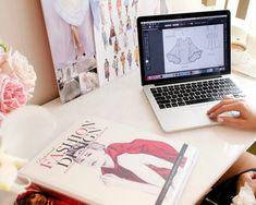 Fashion Illustration Template, Fashion Calendar, Become A Fashion Designer, Tech Pack, Evolution Of Fashion, Online Tutorials, Fashion Line, Pattern Making, Dream Life