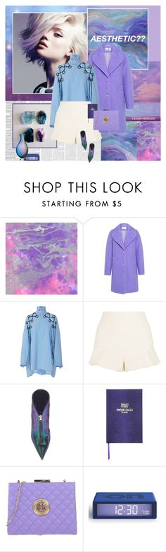 """""""Is it an aesthetic yet?"""" by rainie-minnie ❤ liked on Polyvore featuring Carven, E L L E R Y, Alexis, Sloane Stationery, Love Moschino, LEXON and Kosta Boda"""