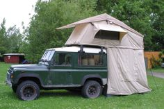 Our new rooftent. Landrover Defender, Motorhome, Camper, Comic, Outdoor Camping, Caravan, Rv, Travel Trailers, Motor Homes