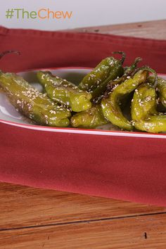 These quick and easy Roasted Shishito Peppers are perfect for any party!