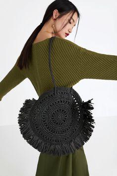 ZARA - WOMAN - XXL NATURAL SHOPPER BAG