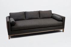 Curved Back Sofa | Lawson Fenning    Dimensions  84w  37d  31h  seat : 17.5h  arm : 26h