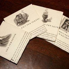 harry potter coasters. This is cool, but if someone CUT the book I will be angry.
