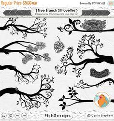 Ik heb gemaakt deze schattige digitale clip kunst boom tak silhouetten met de hand in illustrator. Deze set bevat een scala aan takken, het Nest van een vogel en een dennenappel, alsmede een ABR-bestand (Photoshop Brushes) De takken van deze boom zijn ook beschikbaar als gekleurde illustraties. https://www.etsy.com/listing/120939000/tree-branch-clip-art-bird-nest-graphics Deze clipart stukken kunnen worden afgedrukt, alsook gebruikt in een grafisch programma zoals Photoshop, gimp, word…
