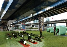 b0c6ec03d49 Under the Viaduct ideas! Submissions to the Vancouver Viaduct competition.