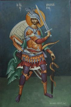 Byzantine Icons, Byzantine Art, Saints And Soldiers, Archangel Raphael, Raphael Angel, Faith Of Our Fathers, Albrecht Durer, Saint George, Orthodox Icons