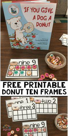 Free Printable Donut Ten Frames