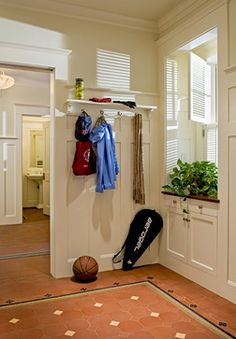MUD ROOM – Shingle style home in Hanover NH, traditional, entry, burlington, Smith & Vansant Architects PC