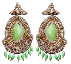 Baubles and Cocktails: Bauble of the Week: Suzanna Dai Jade Rome Drop Earrings