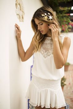 White And Lace By Rocky Barnes