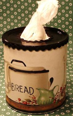 How to Make a Canister to Hold Plastic Bags