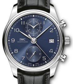 A Look at the new IWC Portugieser Chronograph Classic Watch (Ref 3903) | Perpétuelle