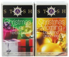 Stash Tea Company Christmas Teas Two Flavor Gift Set (Pack of 3) - http://mygourmetgifts.com/stash-tea-company-christmas-teas-two-flavor-gift-set-pack-of-3/