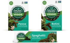 Ancient Harvest unveils gluten-free vegetable pasta line - FoodBev Media Ancient Harvest, Halal Snacks, Gluten Free Brands, Quinoa Pasta, Green Lentils, Vegetable Pasta, Gluten Free Pasta, Food Packaging Design, Free Food