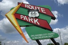 Have a fun day in the sun at Oklahoma City's Route 66 Park just off Lake Overholser. The 148-acre park has three ponds, wetland boardwalks, walking trails, a playground, observation tower and a skate court.
