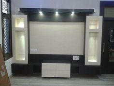 Lcd wall units family rooms that exploit the cornor space open up whatever is lot of the space for more versatile settlement, Lcd Unit Design, Lcd Wall Design, Ceiling Design, Tv Unit Furniture Design, Tv Unit Interior Design, Tv Showcase Design, Lcd Units, Modern Tv Wall Units, Tv Cabinet Design