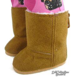 c3a0de80b529db Dark Tan Ewe Winter Boots Shoes Sherpa Lining for 18