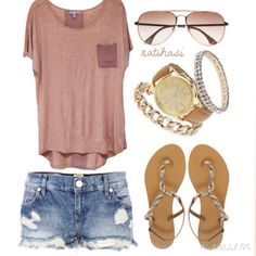 Summer vacation oufit