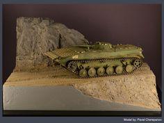БМП-1 в Афганистане — Каропка.ру — стендовые модели, военная миниатюра