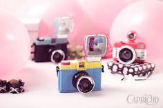 Câmeras fotográficas analógicas lindas!