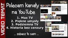 Polecam fajne kanały na YouTube