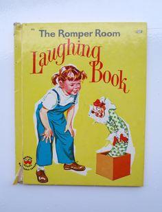 The Romper Room Laughing Book by Nancy Claster, Illustrated by Claudine Nankivel - Wonder Book Little Golden Books, Little Books, Pop Book, Romper Room, 1970s Childhood, Wonder Book, Kids Laughing, Kids Tv, Vintage Children's Books