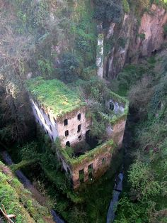 Abandoned Mill in Sorrento, Italy