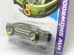 '10 Ford Shelby GT500 Super Snake, Spectraflame Green, 2013 STH #hotwheels #collection