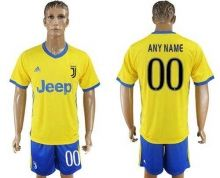 Juventus Personalized Away Soccer Club Jersey