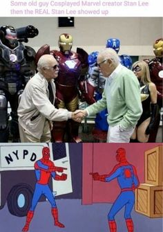 Stan Lee meets Stan Lee