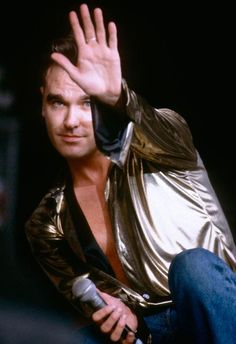 Image result for morrissey hand up