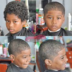 Kid Haircut Ushercut All Hair All Styles Bespoke