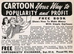CARTOON Your Way to POPULARITY and PROFIT