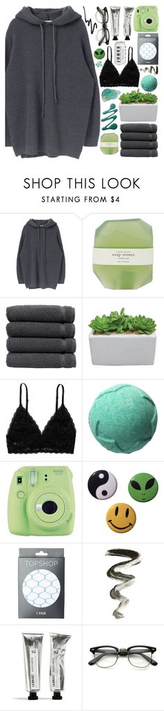 """""""[🍈] why can't I seem to find my mind?"""" by korekara ❤ liked on Polyvore featuring Pelle, Linum Home Textiles, Monki, Gracie, Fuji and Topshop"""