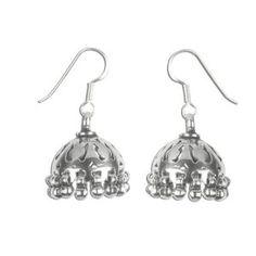 [Idée cadeau] Bijoux en argent sterling 925 - Clochettes ethniques indiennes - Boucles d'oreilles chics et élégantes pour femmes - Mode 2011/2012: ShalinCraft: Amazon.fr: Bijoux