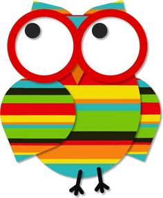 https://flic.kr/p/egQu5i | Owl with Glasses | For you,  Mimi :)  [white background]  Other colours, and a colour-it-yourself version are in THIS set.