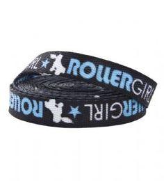 Roller Girl Roller Derby Laces - Blue #rollerderby http://www.badsheepboutique.com/roller-girl-roller-derby-laces---blue-328-p.asp