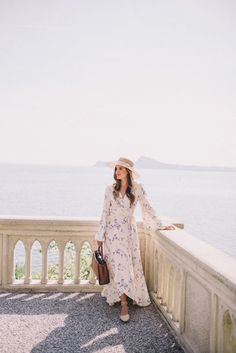 Summer Style : Floral Printed Maxi Dress