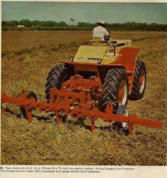 CASE Tool Bar.Case 1200 tractor