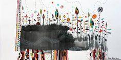 "Saatchi Art Artist Randi Antonsen; Drawing, ""happy drawing no. 1"" #art"