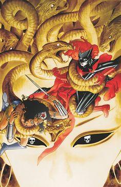 Batwoman #16 cover art